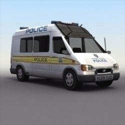 Police Carrier_Van ( 67.64KB jpg by 3DArtisan )