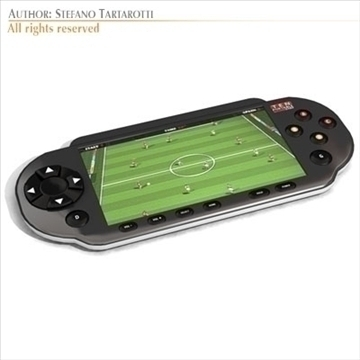 portable game console 3d model 3ds dxf c4d obj 103729