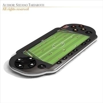 portable game console 3d model 3ds dxf c4d obj 103731