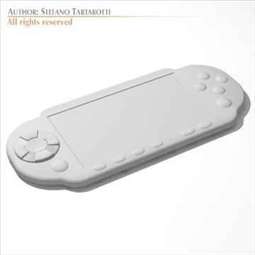 portable game console 3d model 3ds dxf c4d obj 103732