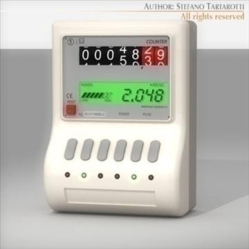 power meter 3d model 3ds dxf c4d 112063