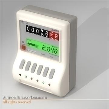 power meter 3d model 3ds dxf c4d 112064