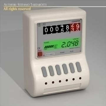 power meter 3d model 3ds dxf c4d 112065