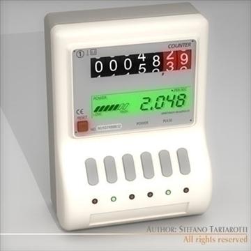 power meter 3d model 3ds dxf c4d 112066