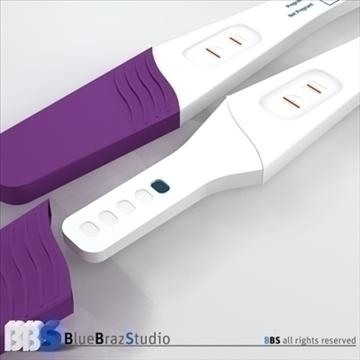 pregnancy test 3d model 3ds dxf c4d obj 107604