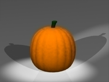 pumpkin 3d model 3ds dxf lwo 108838