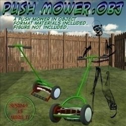 Push Mower.obj ( 125.1KB jpg by uncle808us )