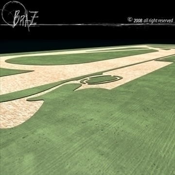 racetrack 3d model 3ds dxf c4d obj 88139