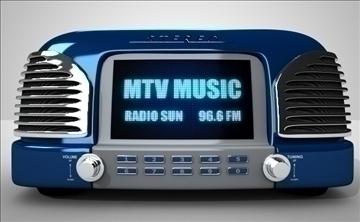 radio 3d modelis lwo obj 97646