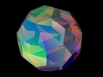 rainbow crystal 3d model 3ds 81989