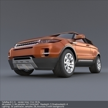 range rover 2011 3d model 3ds fbx blend lwo obj 108361
