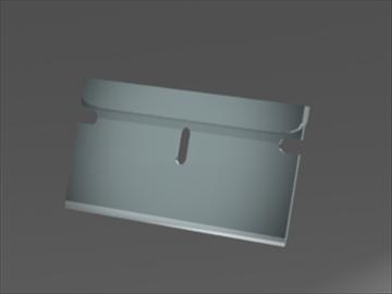 razor blade 3d model 3ds 81238