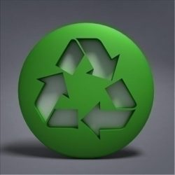recycle logo ( 50.86KB jpg by 3DGL )