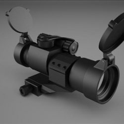Red Dot Sight ( 34.09KB jpg by Blackklaus )