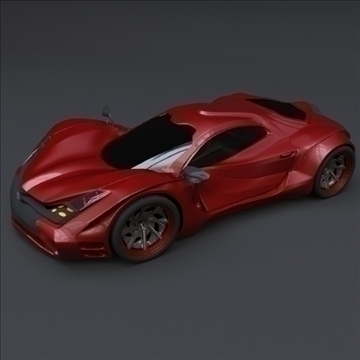 redstone car concept 3d model fbx blend lwo obj 107980