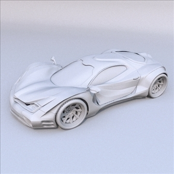 redstone car concept 3d model fbx blend lwo obj 107988