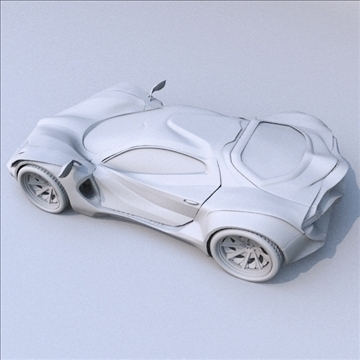 redstone car concept 3d model fbx blend lwo obj 107989