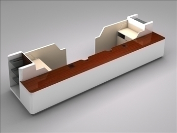 register checkout counter assembly 3d model 3ds max 101264