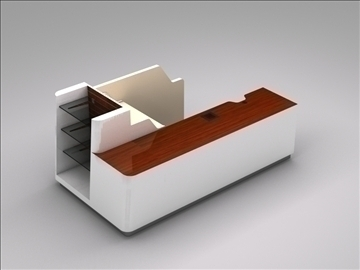 register checkout counter assembly 3d model 3ds max 101265