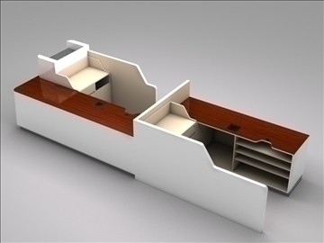 register checkout counter assembly 3d model 3ds max 101266