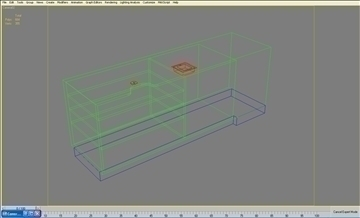 retail checkout counter subassembly 3d model 3ds max 101274