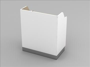 mazumtirdzniecības kases reģistra korpusa mezgls 3d modelis 3ds max 101279