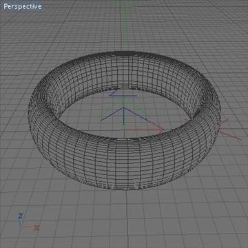 ring.zip 3d model 3ds dxf fbx c4d obj 108985