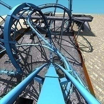 Rollercoaster 3d mudel max 79309
