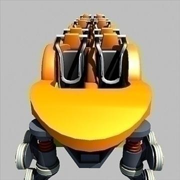 rollercoaster model 3d max 79317