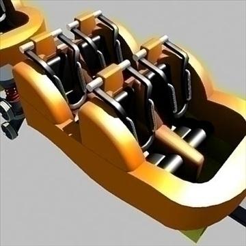 rollercoaster model 3d max 79318