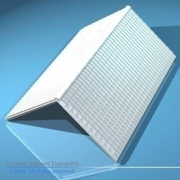 roof tiles 3d model 3ds dxf other obj 78594