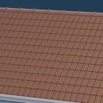 Roof Tiles Flatpyramid