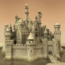 Sandcastle ( 90.57KB jpg by Spexstudio )