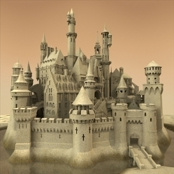 sandcastle 3d model 3ds max 92935