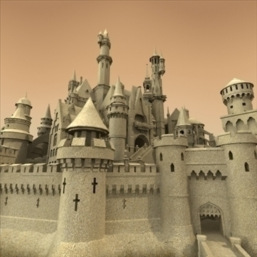 model sandcastle 3d 3ds max 92936