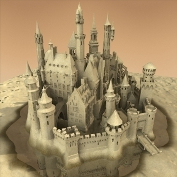 model sandcastle 3d 3ds max 92937