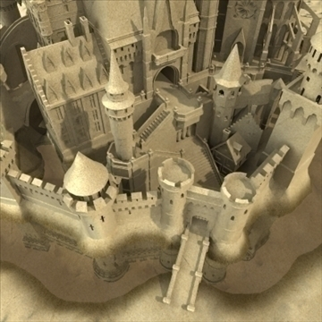 model sandcastle 3d 3ds max 92938