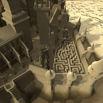 model sandcastle 3d 3ds max 92939
