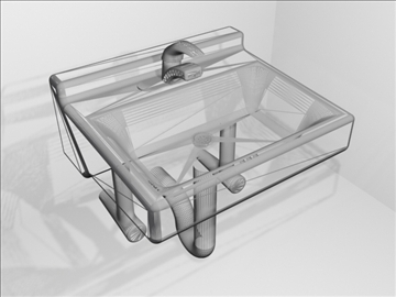 sink and faucet 3d model 3ds max wrl wrz obj 109093