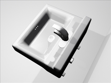 sink and faucet 3d model 3ds max wrl wrz obj 109094