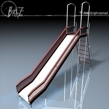 slide 3d model 3ds dxf c4d obj 88292