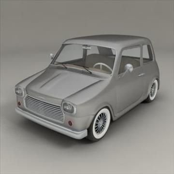 small car 3d model 3ds max fbx obj 104282