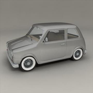 small car 3d model 3ds max fbx obj 104283