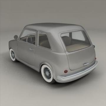 small car 3d model 3ds max fbx obj 104284