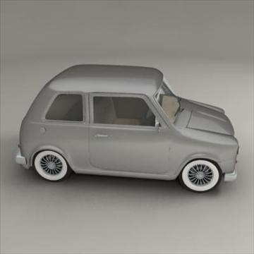 small car 3d model 3ds max fbx obj 104285