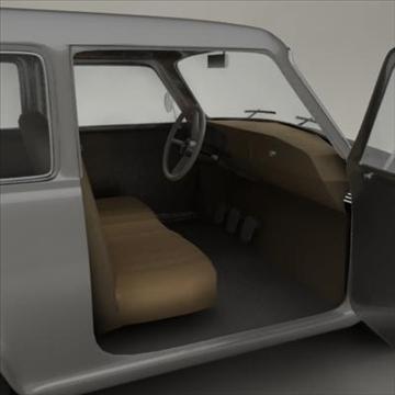 small car 3d model 3ds max fbx obj 104287