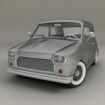 small car 3d model 3ds max fbx obj 104288