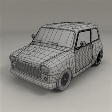 small car 3d model 3ds max fbx obj 104289