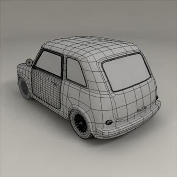small car 3d model 3ds max fbx obj 104290