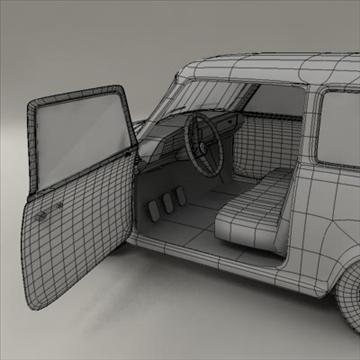 small car 3d model 3ds max fbx obj 104291